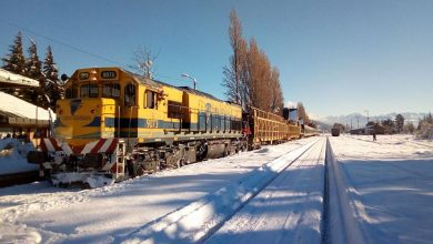 Photo of El Tren Patagónico a Bariloche no para en medio del temporal de nieve